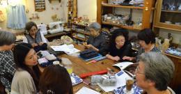 いのちの木「おばあちゃんの編み物会社」設立に向けた「商品開発」プロジェクト