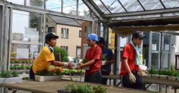 ファール ニエンテ「みんなの庭」プロジェクト