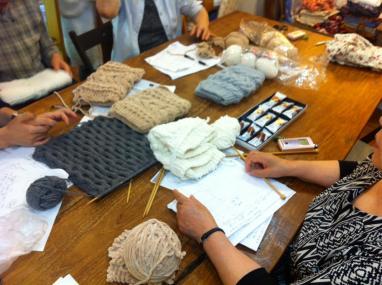 編み物をやりたい!と言われる方が毎日来られます。