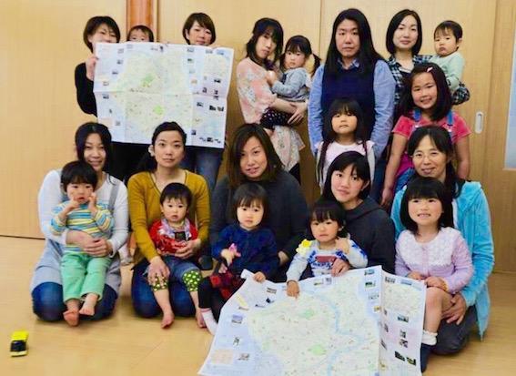 ママによるママのためのマップ「つるみままっぷ」発行プロジェクト